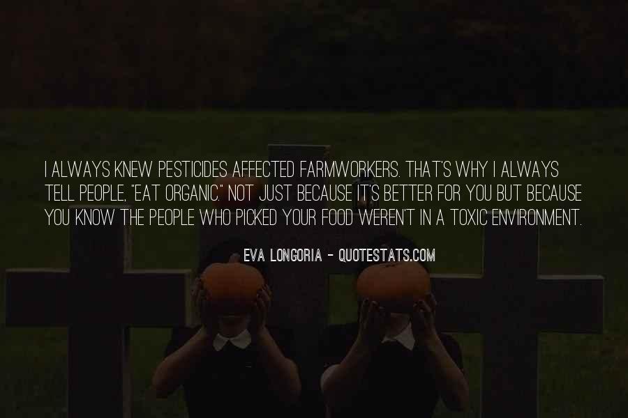 Quotes About Pesticides #380545