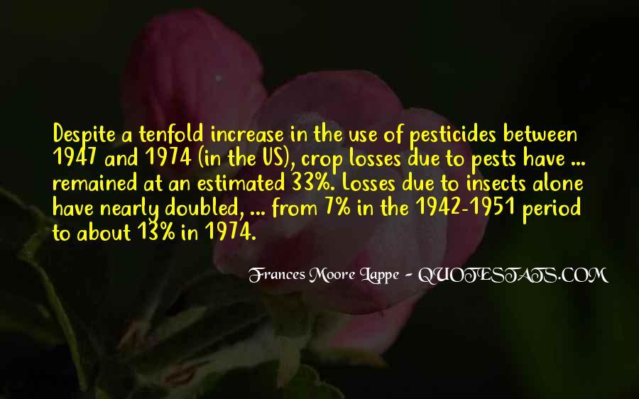 Quotes About Pesticides #793806