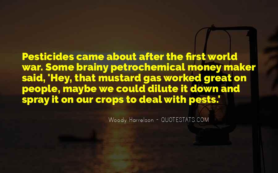 Quotes About Pesticides #890888