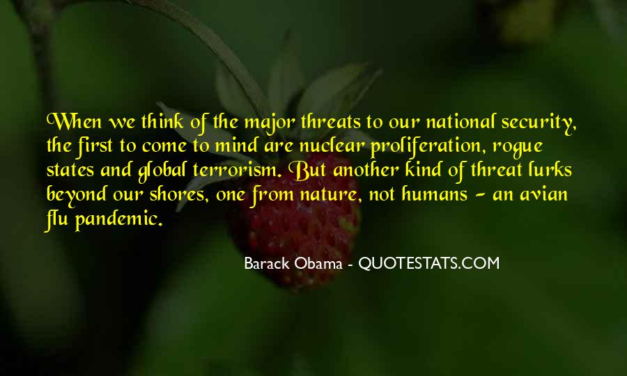 Quotes About National Security And Terrorism #1196180