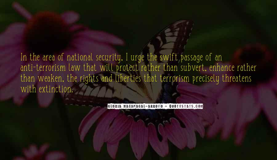 Quotes About National Security And Terrorism #1873032