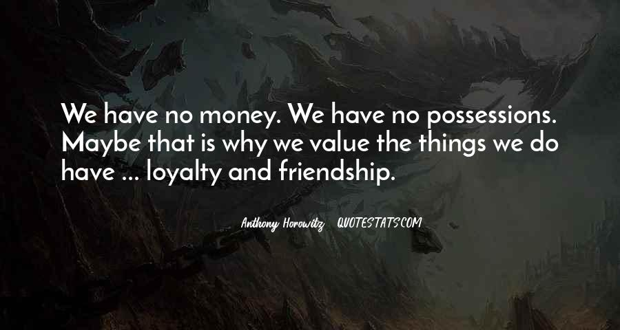 Quotes About The Value Of Friendship #57279
