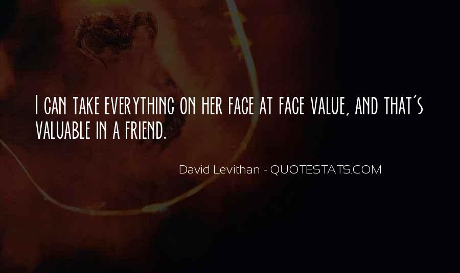 Quotes About The Value Of Friendship #707379
