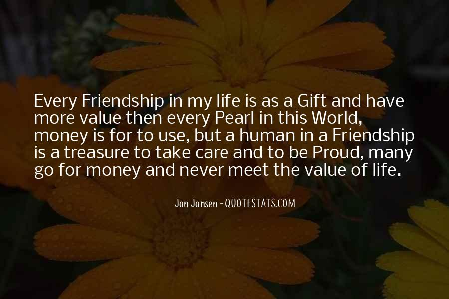 Quotes About The Value Of Friendship #753477