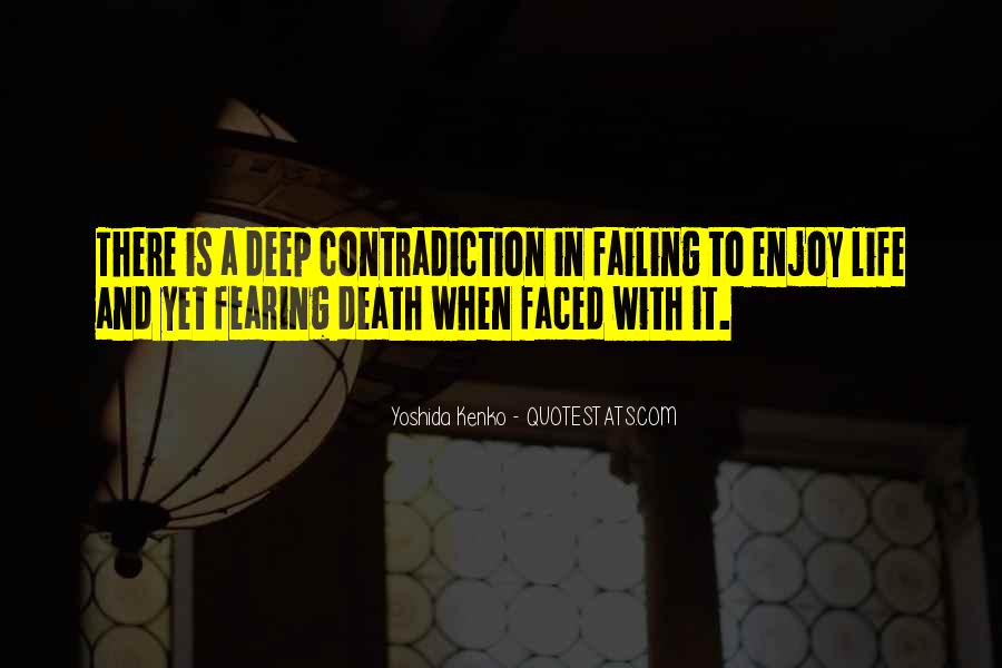 Quotes About Contradiction In Life #1054863