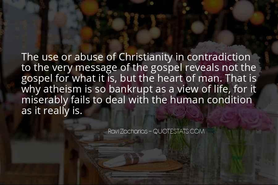 Quotes About Contradiction In Life #1097930
