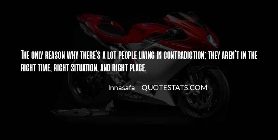 Quotes About Contradiction In Life #1106704
