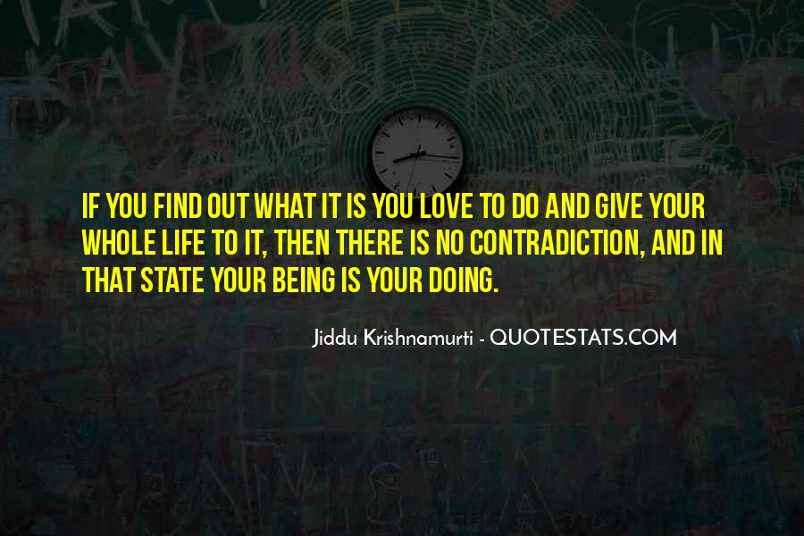 Quotes About Contradiction In Life #1553801
