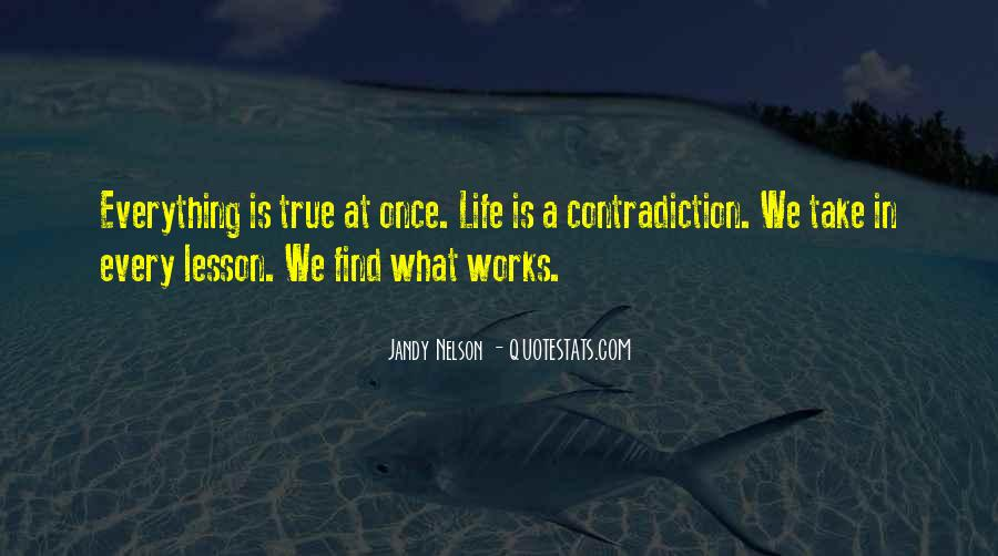 Quotes About Contradiction In Life #174793
