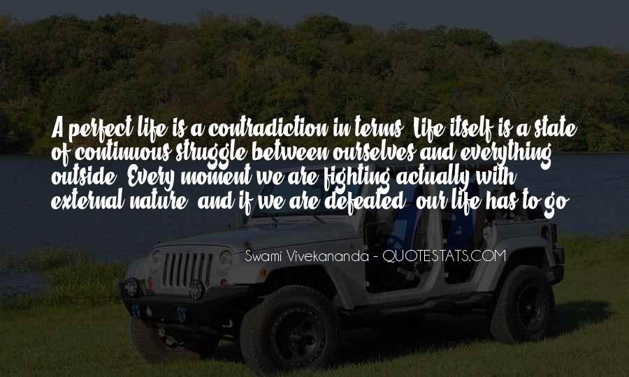 Quotes About Contradiction In Life #1876614