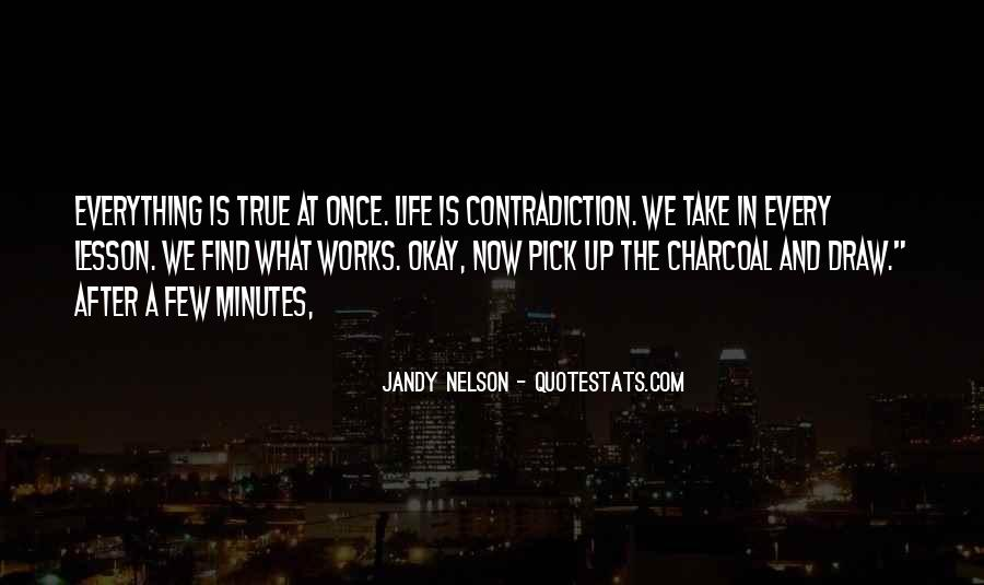 Quotes About Contradiction In Life #204574