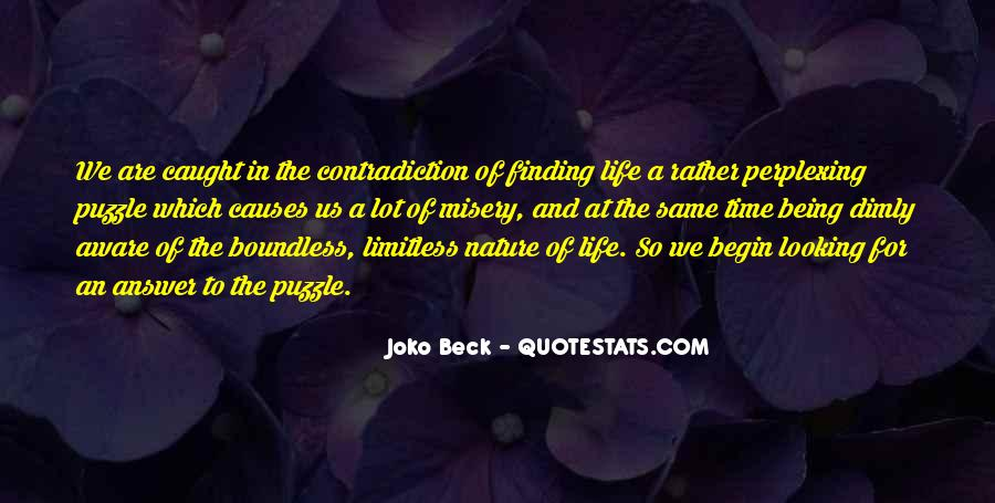 Quotes About Contradiction In Life #309519