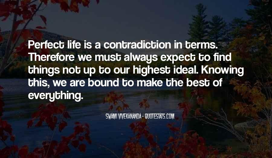 Quotes About Contradiction In Life #490076