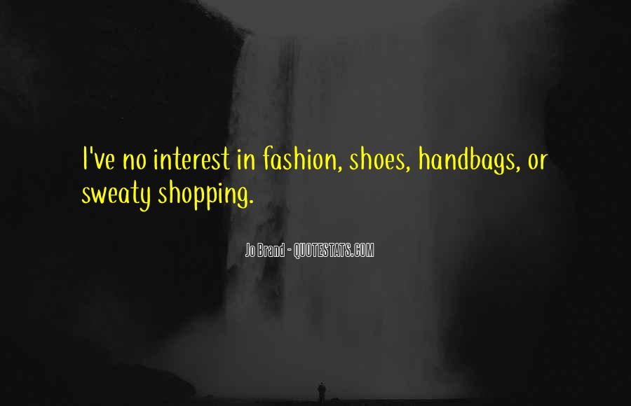 Quotes About Fashion Handbags #1684377