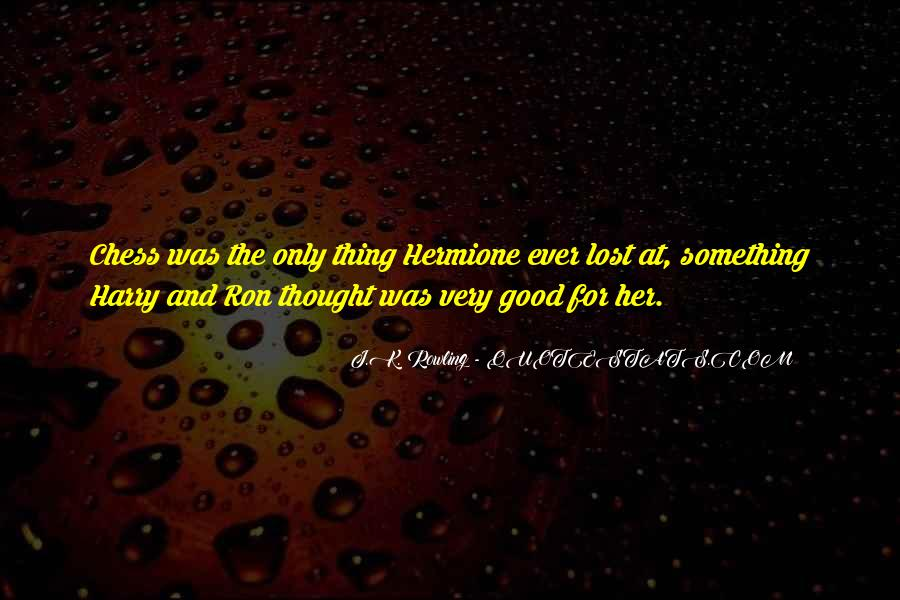 Quotes About Hermione And Ron #1291987
