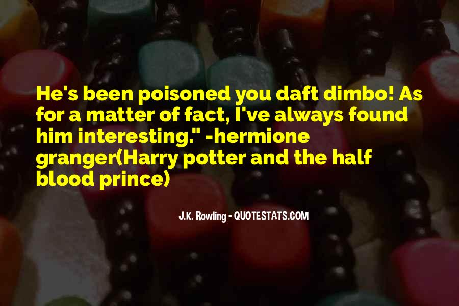 Quotes About Hermione And Ron #323791