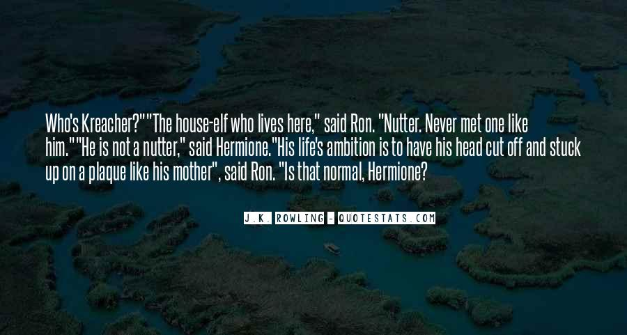Quotes About Hermione And Ron #806832