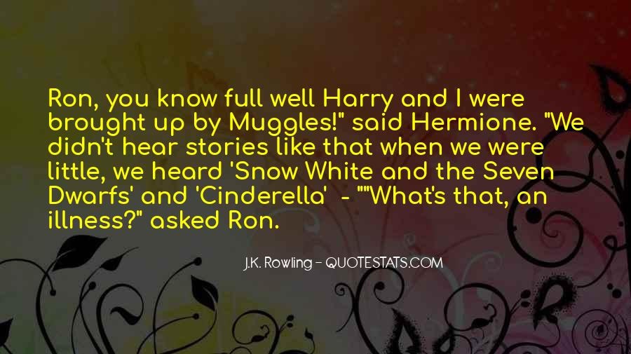 Quotes About Hermione And Ron #910233