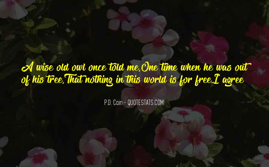 Quotes About Wise Old Owl #992039