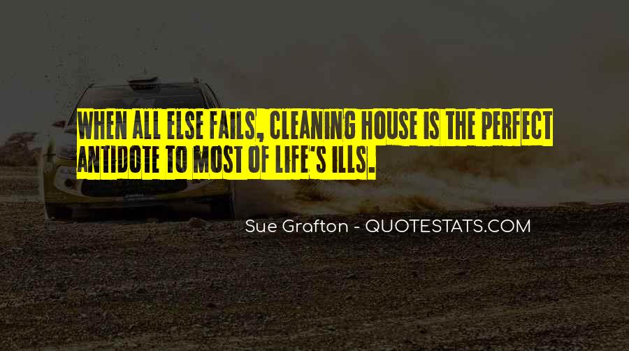 Quotes About Cleaning Up After Yourself #106778