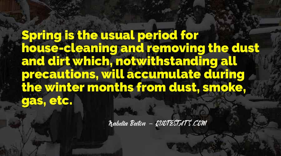 Quotes About Cleaning Up After Yourself #137316