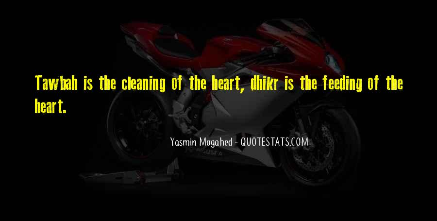 Quotes About Cleaning Up After Yourself #147216