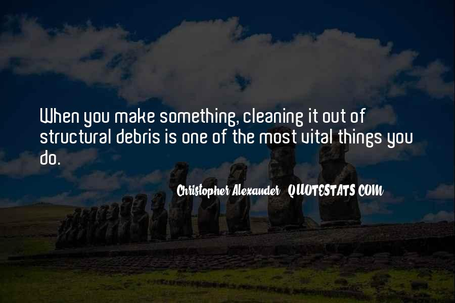 Quotes About Cleaning Up After Yourself #147803