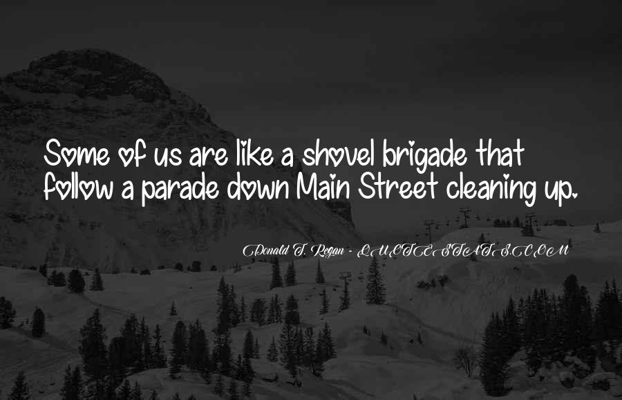 Quotes About Cleaning Up After Yourself #154115