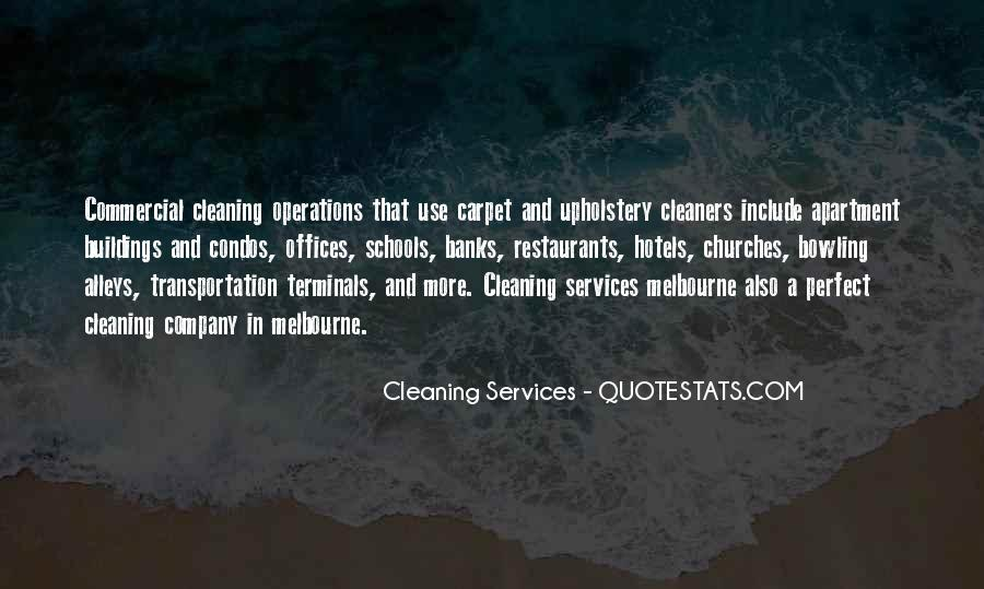 Quotes About Cleaning Up After Yourself #180807