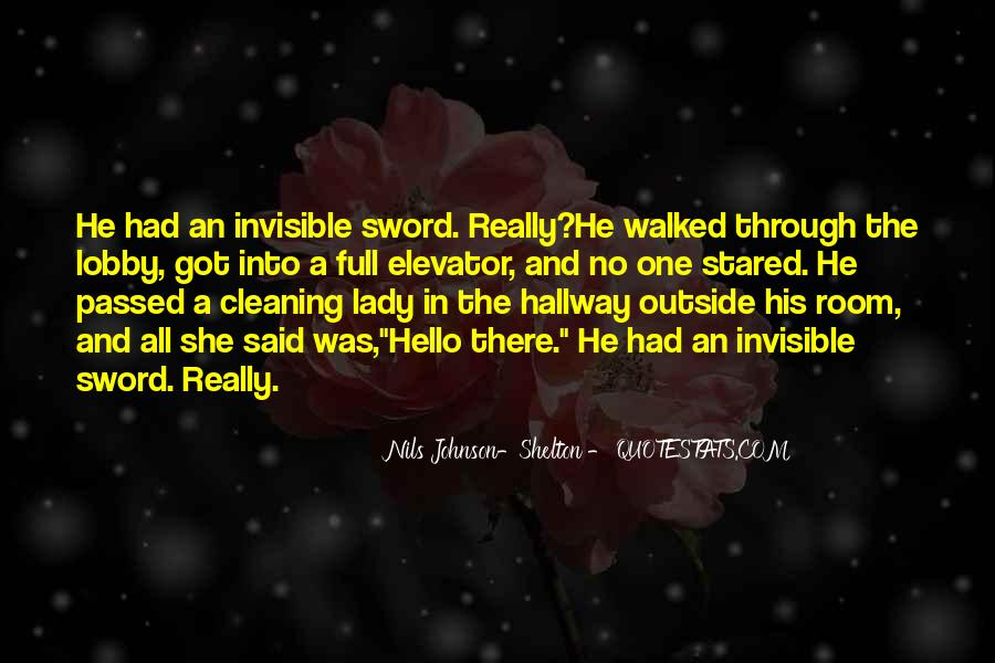 Quotes About Cleaning Up After Yourself #193112