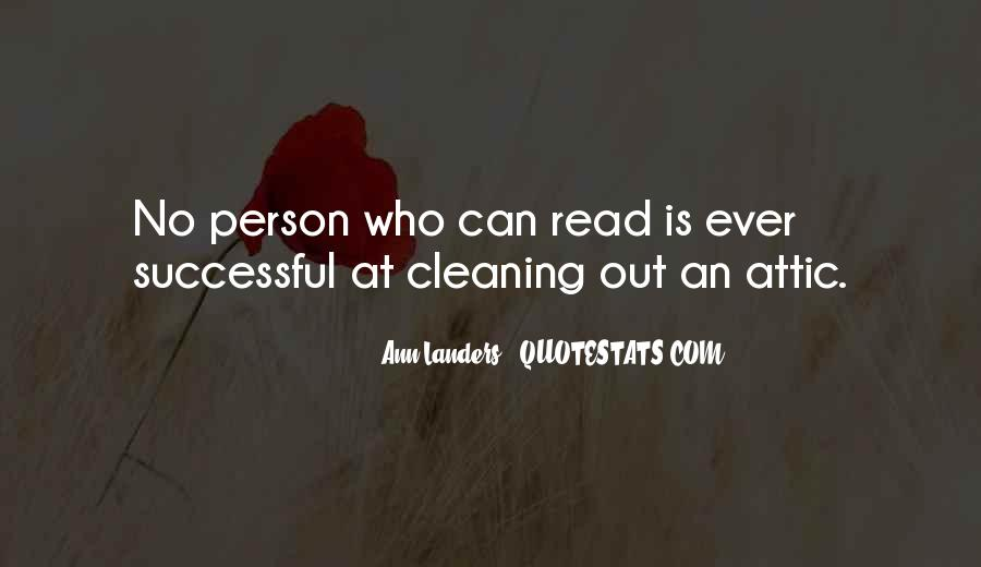 Quotes About Cleaning Up After Yourself #274509