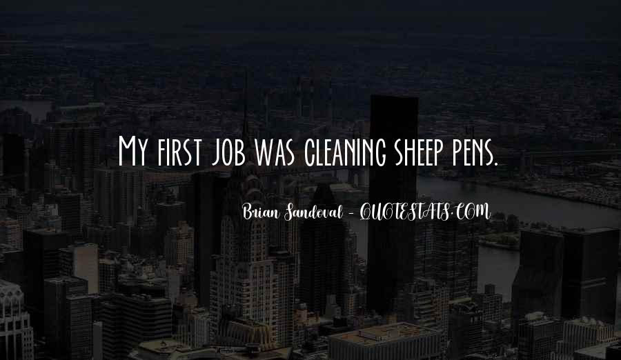 Quotes About Cleaning Up After Yourself #298723