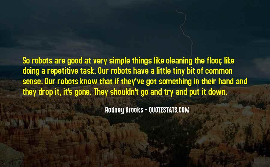 Quotes About Cleaning Up After Yourself #303256