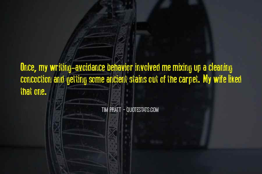 Quotes About Cleaning Up After Yourself #348342