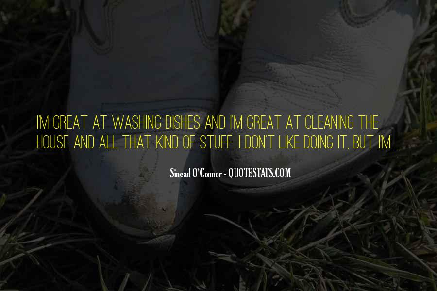 Quotes About Cleaning Up After Yourself #41506