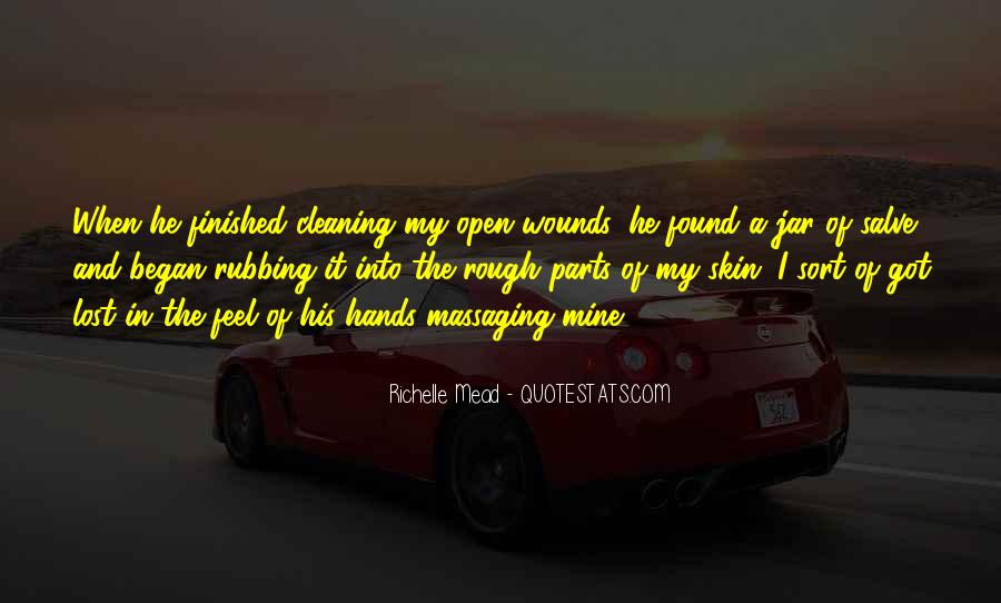 Quotes About Cleaning Up After Yourself #55100