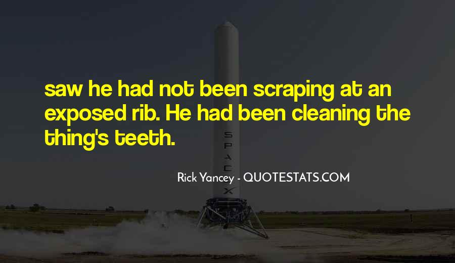 Quotes About Cleaning Up After Yourself #72180