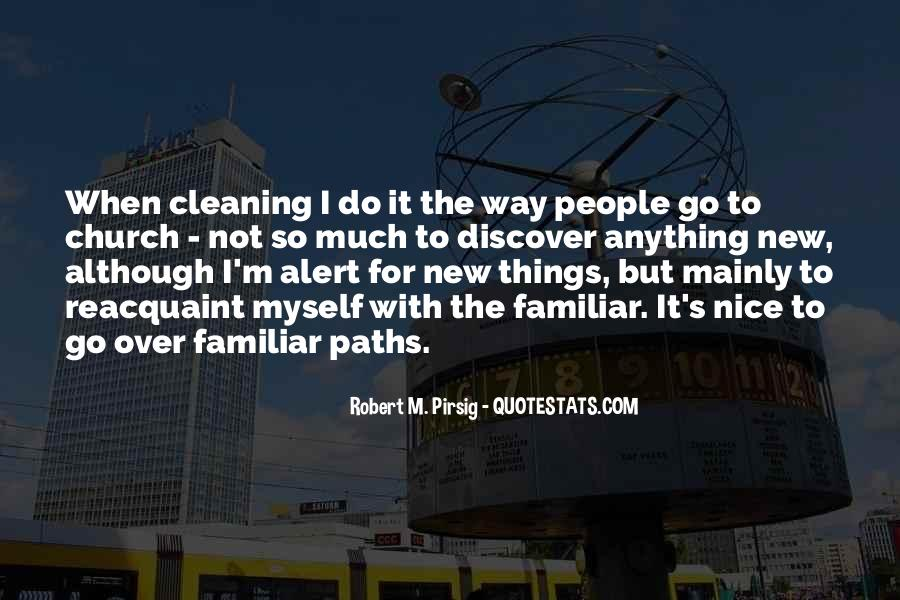 Quotes About Cleaning Up After Yourself #82101
