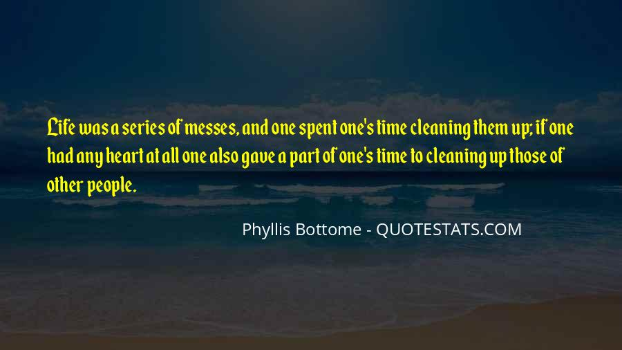 Quotes About Cleaning Up After Yourself #87174
