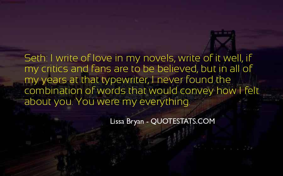 Quotes About Stories Of Love #135911