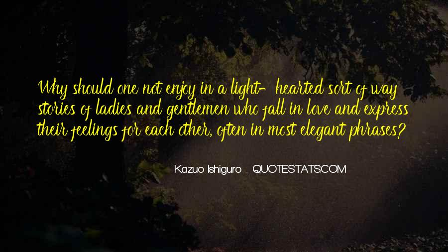 Quotes About Stories Of Love #147033