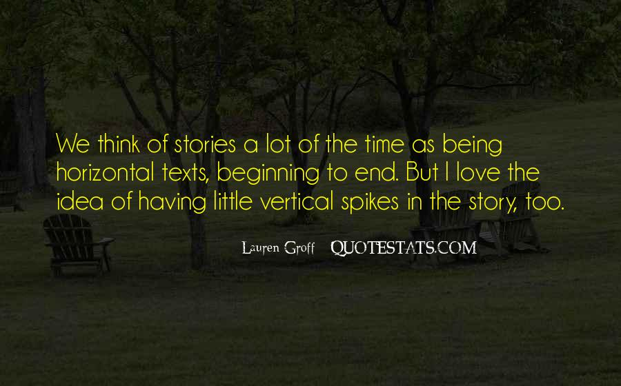 Quotes About Stories Of Love #162741