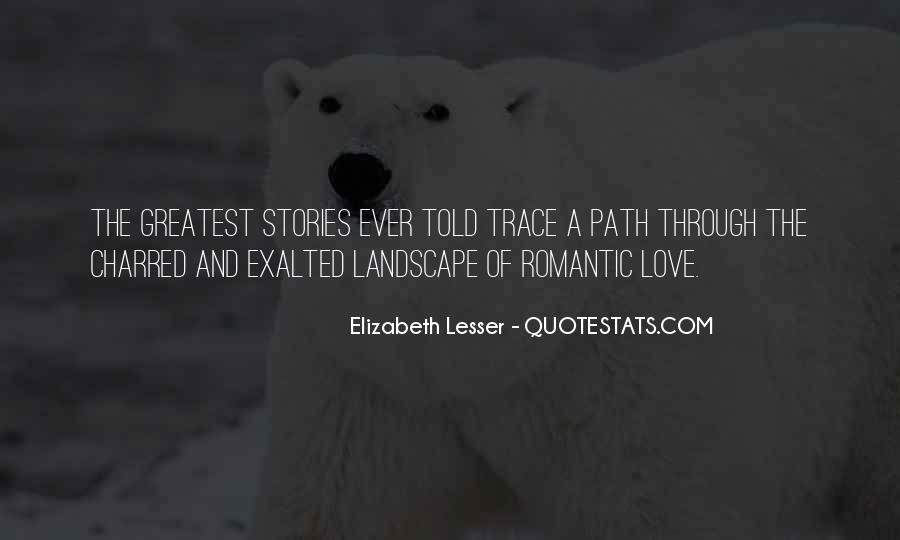 Quotes About Stories Of Love #174536
