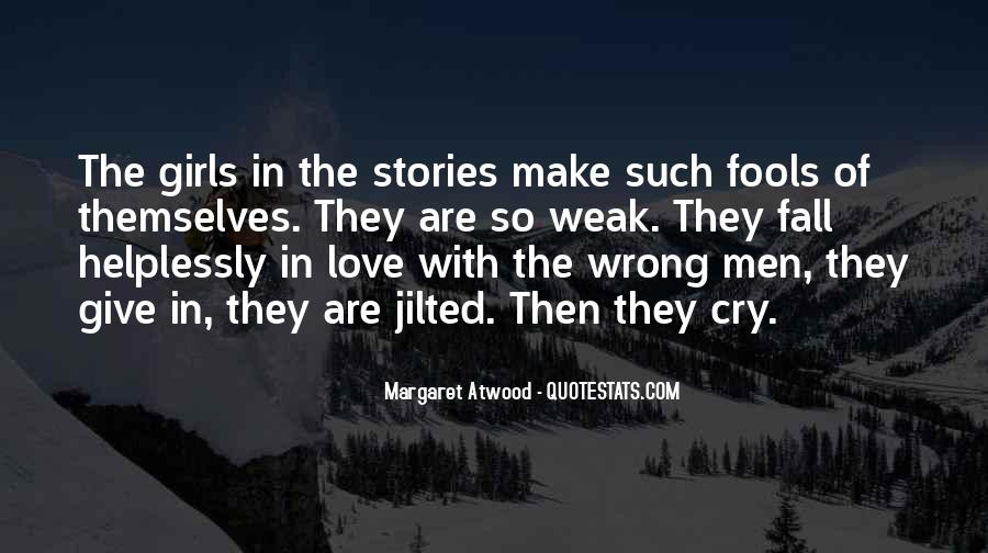Quotes About Stories Of Love #21390