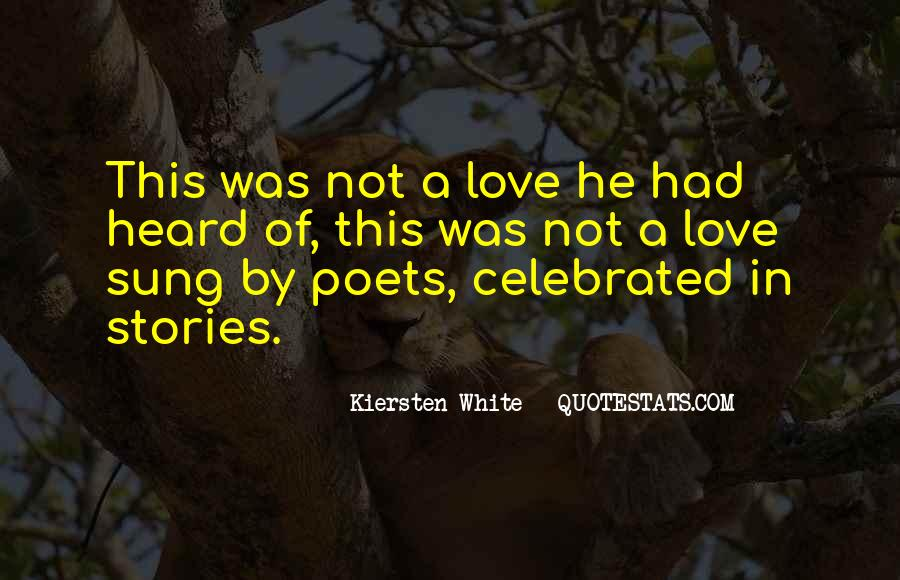 Quotes About Stories Of Love #251555