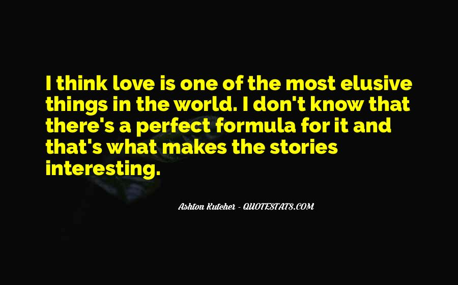 Quotes About Stories Of Love #293843
