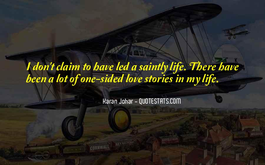 Quotes About Stories Of Love #295319