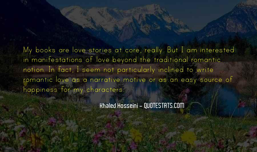 Quotes About Stories Of Love #347661