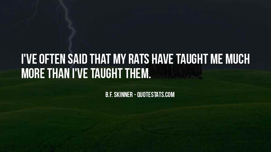 Quotes About Rats #220596