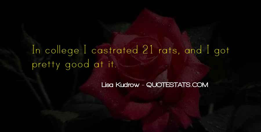 Quotes About Rats #254783